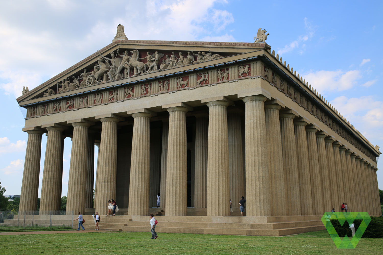Nashville Parthenon Wesley Adventures