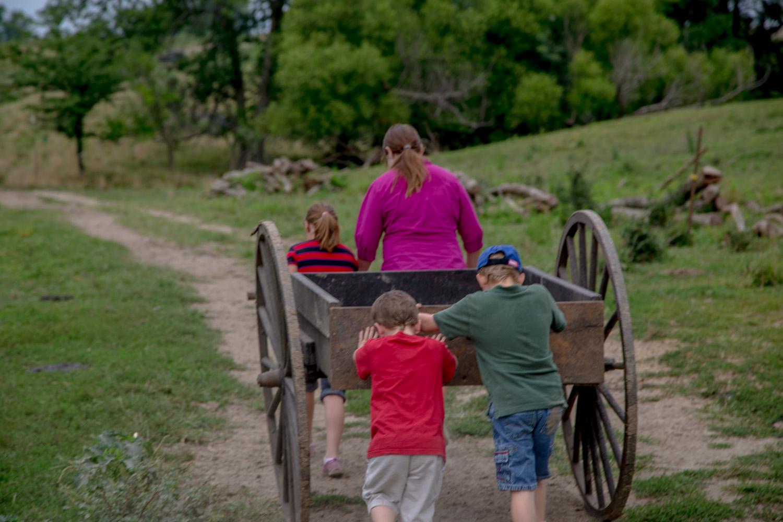 Pioneers & Handcarts