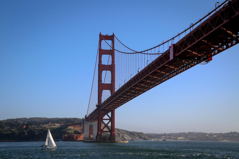 under the golden gate bridge  wesley adventures