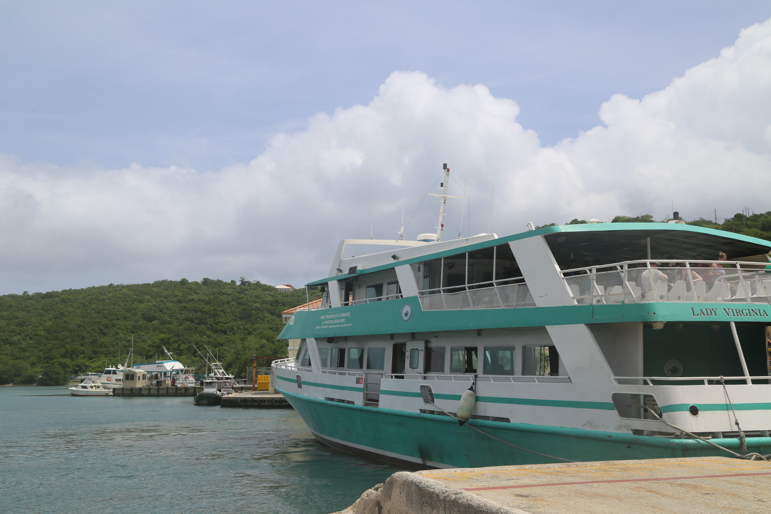 Ferry From St Thomas to St Johns